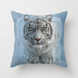 White Tiger - Wild Intentions Throw Pillow