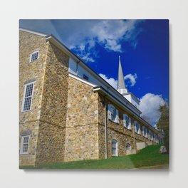 St. David's Chapel, Radnor Metal Print