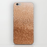 copper iPhone & iPod Skins featuring COPPER by Monika Strigel