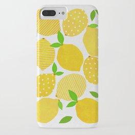 Lemon Crowd iPhone Case