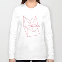 polygon Long Sleeve T-shirts featuring Polygon by Rubraga