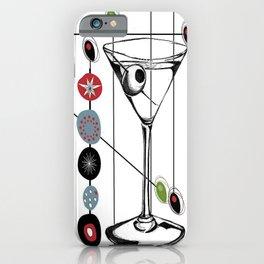 Mid-Century Modern Art Atomic Cocktail 3.0 iPhone Case