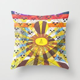 May all be free from suffering Throw Pillow