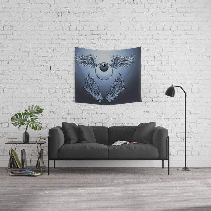 Heavenly Eyeball Wall Tapestry