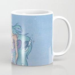 Wanda The Warrior Mermaid Coffee Mug
