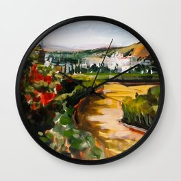 Gardens of La Alhambra Wall Clock
