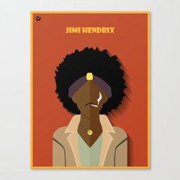 J.Hendrix Canvas Print