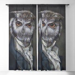 Professor Dapper Blackout Curtain