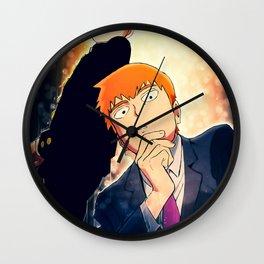 Mob Psycho    Arataka Reigen Wall Clock