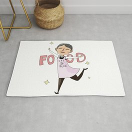 Food is important Rug