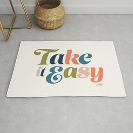 Take it Easy (Multi Color Palette) Rug