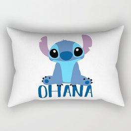 Stitch Ohana Rectangular Pillow