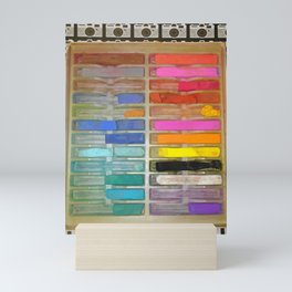 Chalk Pastels & Shoot Mini Art Print
