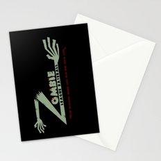 Zombie League Baseball Stationery Cards