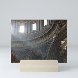 Dome of St. Peter's Basilica Mini Art Print