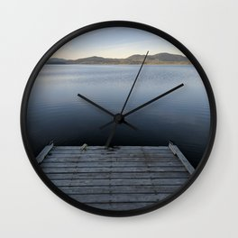 Peaceful Afternoon Wall Clock