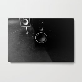 Sound Back Metal Print