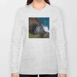 Hawaii's Rare Sacred Pool Long Sleeve T-shirt