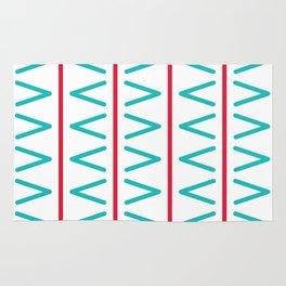 Geometric bright design Rug