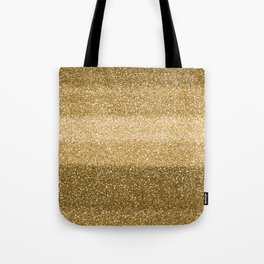 Glitter Glittery Copper Bronze Gold Tote Bag