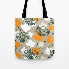 Spring Garden M+M Latte by Friztin Tote Bag