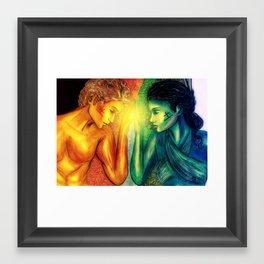 Perfect Earth Framed Art Print