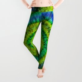 Tie Dye // Fiddlehead Ferns Leggings