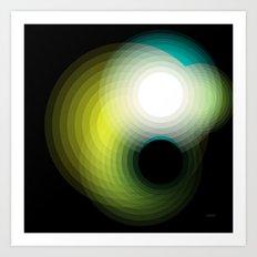 Black Hole by Friztin Art Print