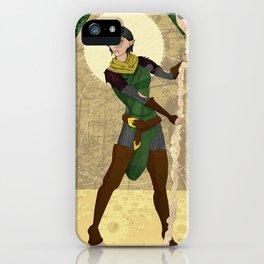 Lady Daisy iPhone Case