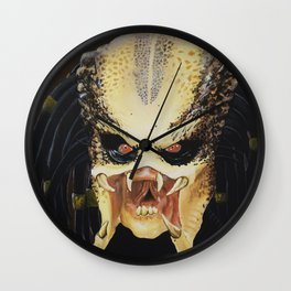 The Predator Wall Clock