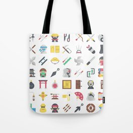 CUTE NINJA PATTERN Tote Bag