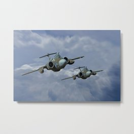 Buccaneer - Leads the Field Metal Print