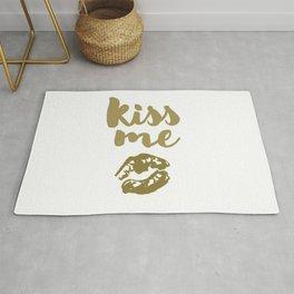Kiss Me (white) Rug