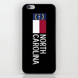 North Carolina: North Carolinian Flag iPhone Skin