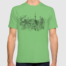 Toronto! Grass Mens Fitted Tee LARGE