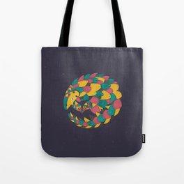 Celestial Pangolin Tote Bag