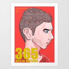 365 Days of Sketches: Number #136 Art Print