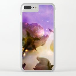 My stars Magnolia Clear iPhone Case