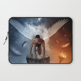 following the lights Laptop Sleeve