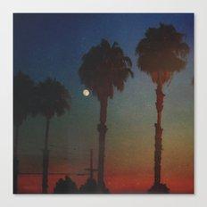 Moon Glow Canvas Print
