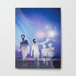 Journey of the Lightworkers Metal Print