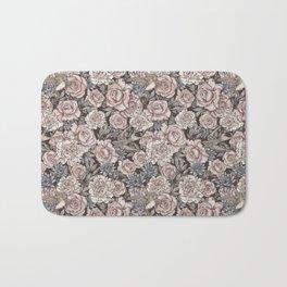 Flowers & Swallows Bath Mat