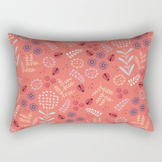 Little Ladybugs Rectangular Pillow