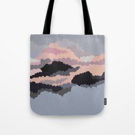 Magic Sunset Clouds On The Sky Tote Bag