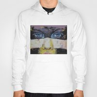 superhero Hoodies featuring Superhero by Michael Creese