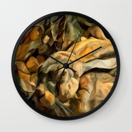 Splitting Hares Wall Clock