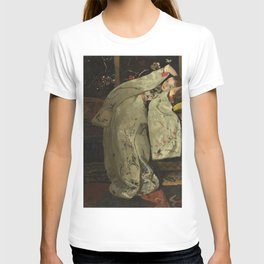 George Hendrik Breitner - Girl in a White Kimono #2 - Top Quality Image Edition T-shirt