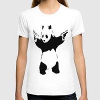 banksy T-shirts featuring Banksy Panda1 by vie3