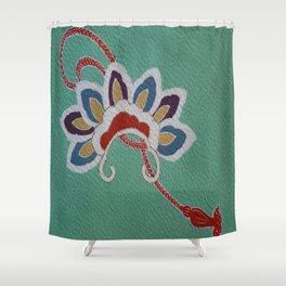Japanese Kiku Flower (chrysanthemum) Shower Curtain