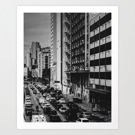 Selva de Pedra - SP, Brasil Art Print